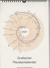 Grafischer Planeten-Kalender 2021 (Wandk.)